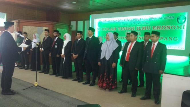 Pejabat Struktural STIE Ichsan Sidrap Dilantik