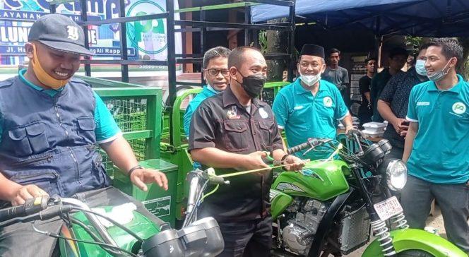 'Pappulung Aroppoe' Launching Bisnis Sampah Berbasis Online