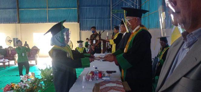 Meski Pandemi, STAI DDI Pangkajene Wisuda 71 Alumni