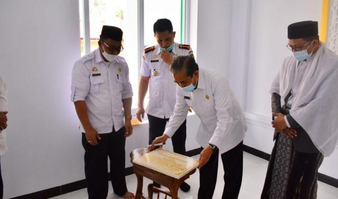 Bupati Resmikan Masjid Nurul Hayati Rijang Pittu