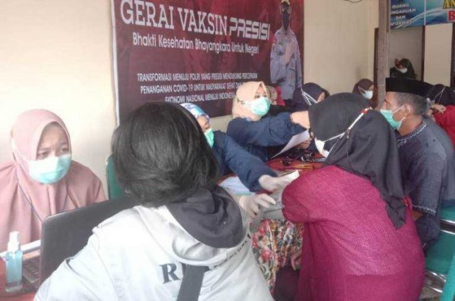 Samsat Barru Buka PeLayanan Vaksin Gratis